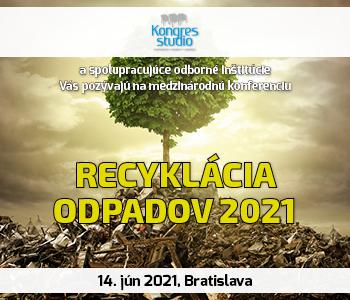 Recyklácia odpadov 2021