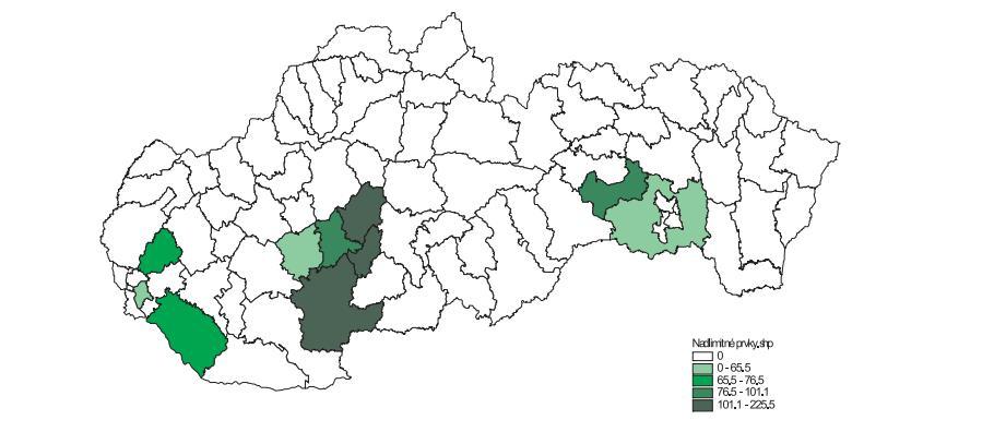 Online dátumu lokalít poľnohospodárov