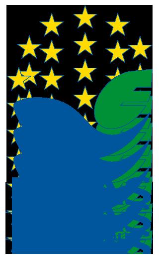 Logo dobrovoľného nástroja environmentálneho manažérstva pre organizácie - Spoločenstvo pre environmentálne manažérstvo a audit