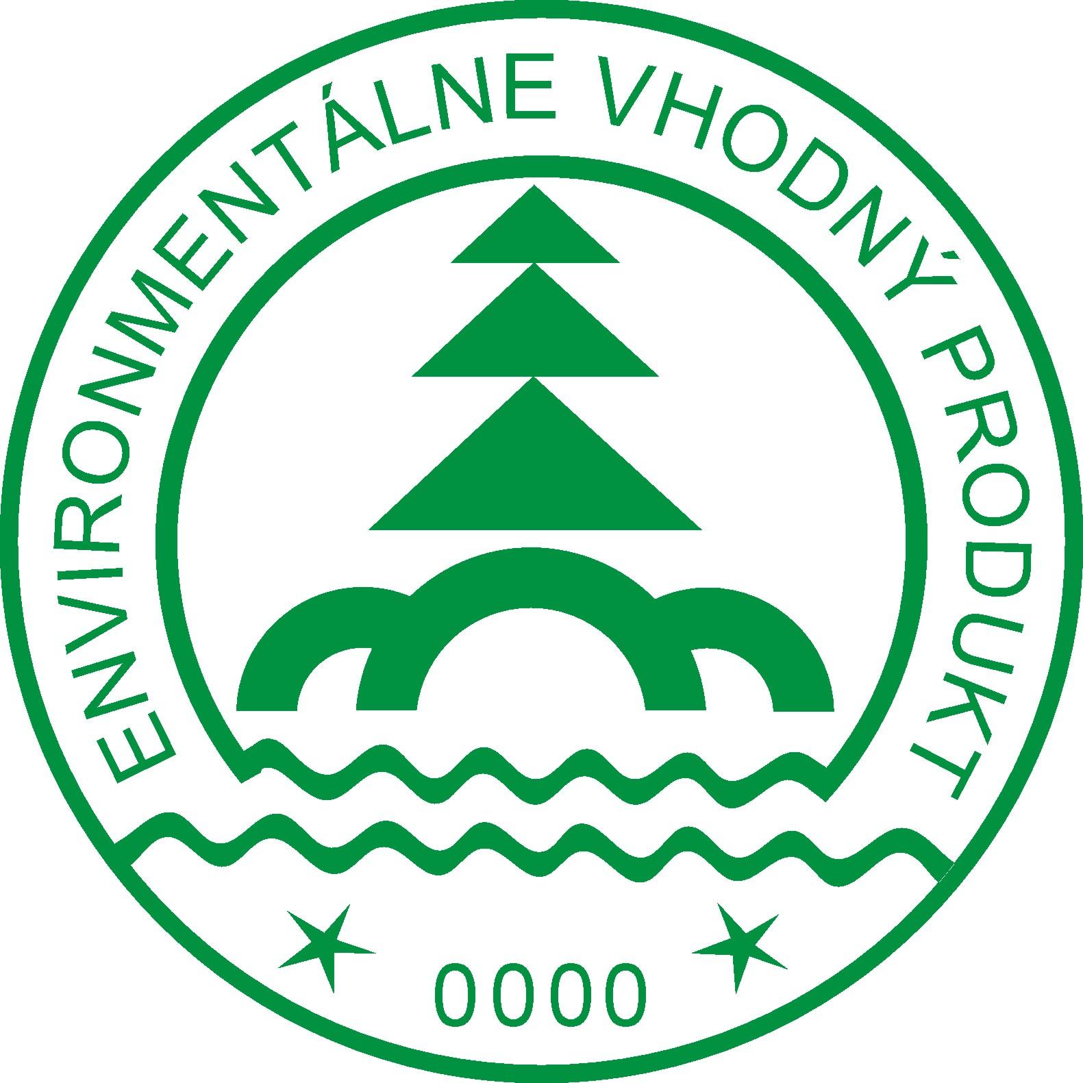 Logo národnej environmentálnej značky - Environmentálne vhodný produkt
