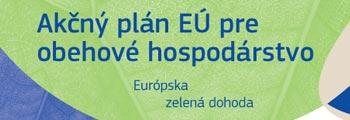 Ilustračný obrázok s preklikom na leták o Akčnom pláne EÚ pre obehové hospodárstvo
