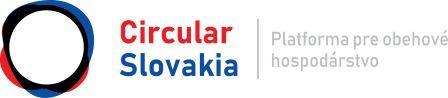 Logo Circular Slovakia - platformy pre obehové hospodárstvo