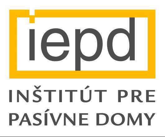 Logo Inštitút pre pasívne domy