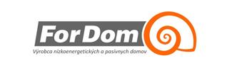 Logo ForDom s. r. o.