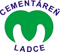 Logo Považská cementáreň, a. s., Ladce